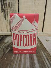 Vintage 1940's/1950's Movie Theater/Carnival/Fair Popcorn Box, NOS
