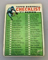 1964 Topps # 517 Checklist 7th Series Baseball Card Seventh