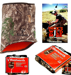 Realtree Edge Camo Neck Gaiter by Huntworth Outdoor Hunting Water Repellent NEW