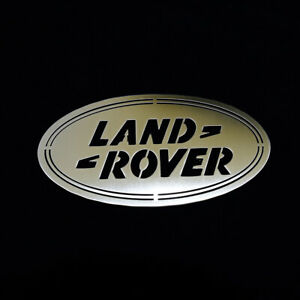 Stainless Steel Land Rover Badge