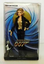 2009 GOLDFINGER (PUSSY GALORE) James Bond 007 Barbie BLACK LABEL_R4465_NRFB