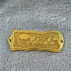 Vintage Polar Ice Cabinet's Solid Brass Name Plate