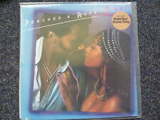 """Peaches & Herb - 2 HOT! discoteca VINILE LP (incl. Shake Your Groove Thing 12"""" Mix)"""