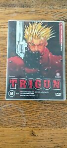 TRIGUN VOLUME 1 THE $$60,000,000,000 MAN DVD - VGC