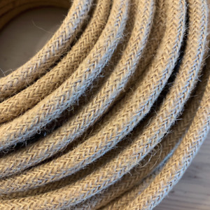 Rope Textile Cable | 3 Core 0.75mm Flex | Per Metre