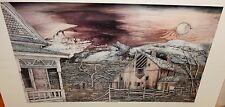 """JAMES F SHIRLEY """"COUNTRY SUNSHINE"""" LIMITED EDITION HAND SIGNED LITHOGRAPH"""
