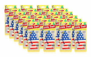 Little Trees Hanging Car and Home Air Freshener, Vanilla Pride Scent -Pack of 24