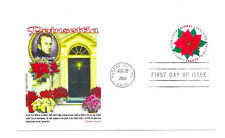 5311  Global Forever Poinsettia Panda Cachets, FDC