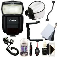 Canon Speedlite 430EX III Non RT Flash with Accessories for Canon DSLR Cameras