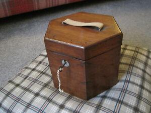 Original Wooden Concertina Box with working lock