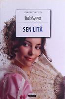 Senilità Italo Svevo Vers. Integrale Crescere Edizioni LIBRO Nuovo Senilita'