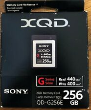 Sony - Memory Card - XQD 256gb G series - new. Compatible with Nikon/Sony