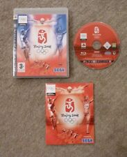 BEIJING  2008 PLAYSTATION 3 WITH BOOKLET