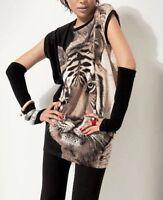 Longshirt T-Shirt Tiger Motiv