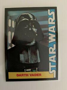 1977 Star Wars Wonder Bread Darth Vader #5 Trading Card High Grade