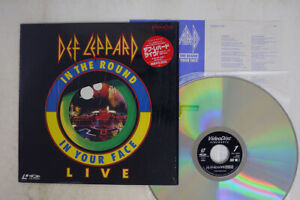 DEF LEPPARD IN THE ROUND VIDEO ARTS VAL 3097 Japan SHRINK VINYL LD