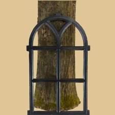 Fenster Bogen Stallfenster Scheunenfenster Eisen black Guss NEU Mauer Ruine