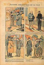 Caricature Politique la Paix Spartacus Berlin Bolcheviks Curé 1919 ILLUSTRATION