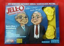 Warren Buffett Jell-O Mold Berkshire Hathaway Exclusive 2017 Omaha Rare Charlie
