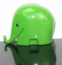 Luigi Colani éléphant vert-tirelire-MONEY BOX Green-panton eames era-L