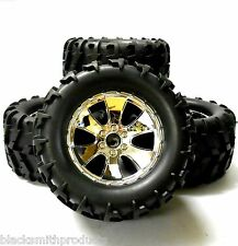 BS904T 1/10 Scale RC Nitro Monster Truck Oversized Off Road Wheels and Tyres 4
