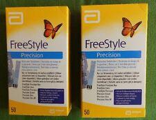 FreeStyle Libre Precision 2x50 Teststreifen MHD 31.12.2019  NEU/OVP
