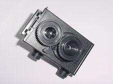 Recesky DIY Twin Lens Reflex Black TLR 35mm Holga Lomo Camera ** MINT