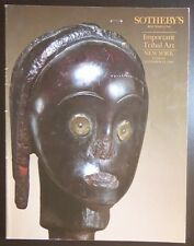 Auction Catalogue Sotheby's New York Important Tribal Art November 20, 1990