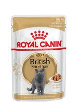 Royal Canin British Shorthair Adult Wet Cat Food - 12 x 85g