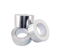 Tru Af Heat Shield Resistant Aluminum Foil Tape Hvac 4in X 50yds Pack Of 2