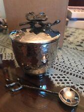 Michael Aram Black Orchid Mini Pot w/ Spoon #110835 Home Decor Tableware