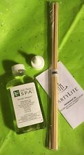 Rare~HINOKI STEAM~Well Being SPA~Fragrance OIL & REED Set~Diffuser~Partylite~NIB
