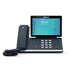 "YEALINK SIP-T56A 16 LINE VOIP IP MEDIA SMART PHONE 7"" COLOR LCD BT WF GIGA POE"