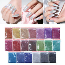 5/10/20g Holographicssssss Powder Glitter Shimmer Laser Pigment Nail Tips Design