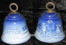 1984 BING & GRONDAHL WEIHNACHTSGLOCKE / CHRISTMAS BELL TOP 1. WAHL