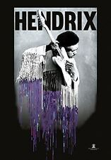 Official Jimi Hendrix - Dripping - Textile Poster Flag 110cm x 75cm
