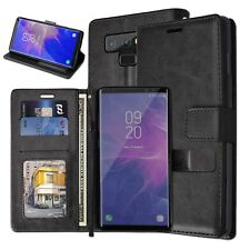 Samsung Galaxy Note 9 PU Leather Wallet Cases with Stand & Card Storage