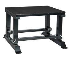 RioFit Plyobox höhenverstellbar schwarz - Reaktivkraft - Sprungkasten - Training