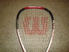 Wilson Ripper Crushing Power Titanium racketball racket