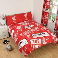 Liverpool FC 'Empiècement' Set Housse de Couette Double Neuf Football