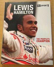 LEWIS HAMILTON THE PEOPLE'S CHAMPION Bruce Jones Book (Hardback) NEW