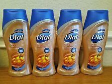 LOT OF 4 Dial Silk & Seaberry Body Wash Liquid Soap 12 FL OZ Moisturizing NEW