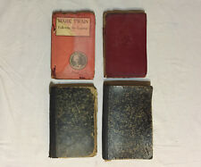 Lot of 4 Antique Books: Mark Twain Following The Equator V 1 & 2 + German Books