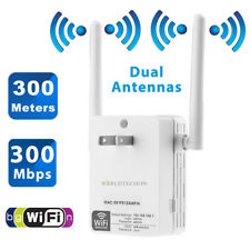 300Mbps WiFi Repeater Wall-Through Extender Signal Booster Network Router 2.4Ghz