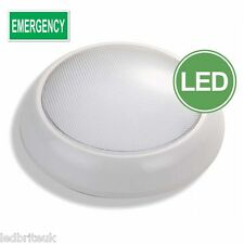 Mamparo de emergencia de 16 Vatios LED Luz IP54 conmutable mantuvo/no mantuvo