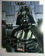 Dave Prowse Signed Star Wars Darth Vader 11x14 Photo EXACT Proof COA A