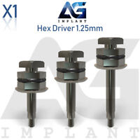 Hex Driver 1.25mm Manual Screwdriver Abutment Tool For Dental Implant
