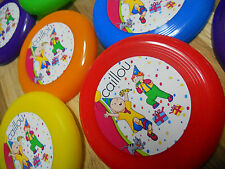 12 Caillou PBS mini frisbees~ birthday party favor, goodie bags, prizes, awards