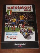 ALBUM CALCIATORI FIGURINE PANINI GAZZETTA DELLO SPORT 1976/77 1976 1977