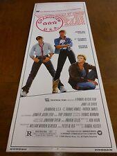 GRANDVIEW U.S.A.LOT OF 5(1984) JAMIE LEE CURTIS ORIGINAL INSERT POSTER NICE!